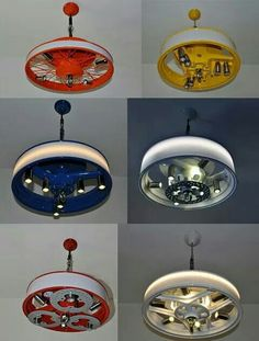 "Ls obras de ""Tinman"" usan chatarra proveniente de vehículos de desguace, convir… The works of ""Tinman"" use scrap from scrapping vehicles, turning them into useful products of retro dyes, such as these lounge lamps. Tire Furniture, Garage Furniture, Car Part Furniture, Automotive Furniture, Automotive Decor, Design Garage, House Design, Car Parts Decor, Garage Art"