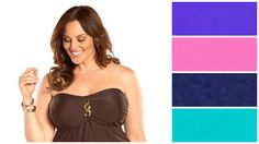 Plus Size Underwire tankini - Always For Me  So many colors to choose from
