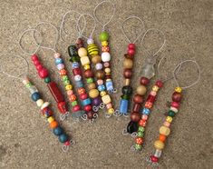 DIY Beaded Bubble Wands