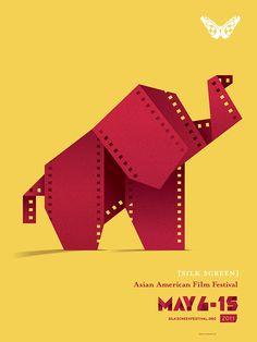 Silk Screen: Asian American Film Festival on Behance