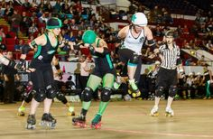 WFTDA championships || Holy mother of god, look at that jump!