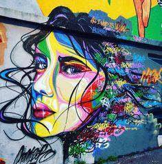 """All I need is a wall"" by @onemizer #onemizer #free #befree #peace  #streetart #urbanart #graffiti #graff #graffitiwall #wall #wallporn #wallpornart #streetarteverywhere #streetphoto #streetartandgraffiti #urbanwalls #graffart #spray #bombing  Rue du Sergent Bobillot #montreuil"