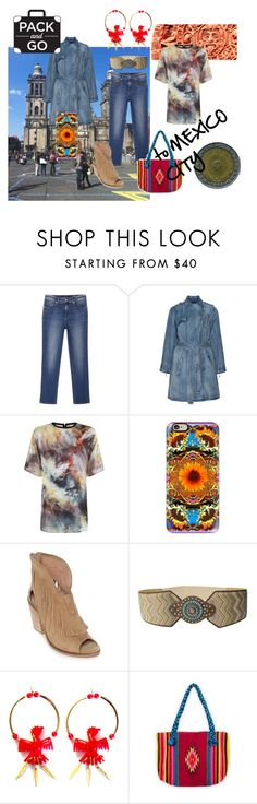 """Mexico City Bound, Al Districto Federal"" by clothingcollector1 ❤ liked on Polyvore featuring Violeta by Mango, Jean Marc Philippe, Casetify, Musse & Cloud, M&F Western, Patricia Nicolas, NOVICA and Packandgo"