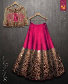 Excited to share this item from my shop: VeroniQ Trends- Designer Lehnga Choli in foil mirror work with A koti or jacket in Royal Majenta Color-Engagement,partywear Indian Fashion Dresses, Indian Bridal Outfits, Indian Gowns Dresses, Dress Indian Style, Indian Designer Outfits, Designer Clothing, Indian Wedding Dresses, Pakistani Clothing, Indian Designers