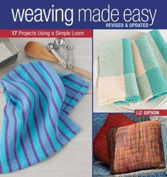 Discover books for rigid heddle weavers ideas on pinterest loom weaving made easy revised and updated ebook fandeluxe Image collections