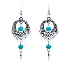 HUIMEI 14K Gold Plated Sterling Silver Unique Asymmetry Geometric Shapes Dangle Earrings