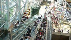 Langham Place 朗豪坊商場 -Hong Kong.  One of my favourite shopping malls, not good if you don't like heights though