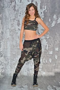 Camouflage Print Mock Wallet Chain Harem Pant – Lexi-Luu Designs Inc. Online Store