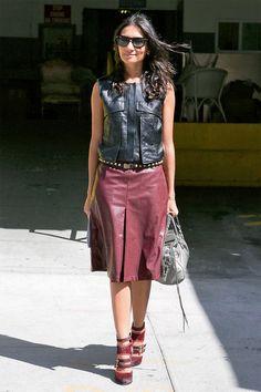Modetrend: Nichts lieber als Leder (Redaktion: Sarah Buschor; Fotos: Imaxtree)
