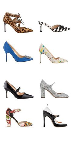 chaussure a talon carr�