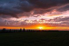 Natural English landscape Sunset, Sharnbrook , Photography, images, downloads