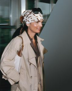 APRIL 3, 1976: New York City – Jackie Onassis arriving at JFK Airport from Jamaica.