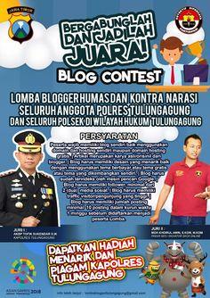 Lomba Blogger Humas Dan Kontra Narasi Polres TULUNGAGUNG
