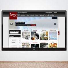 Diseño y programación Ferco http://www.maquinaria-de-hosteleria.es/ www.monoermo.com