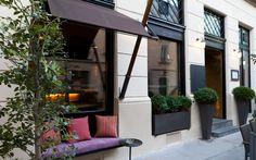 artner Lokal, Vienna, Balcony, Entrance, Exterior, Restaurant, Spaces, Door Entry, Crickets