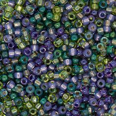 #InspirationinBloom - Size 11 Crush Round Japanese Seed Bead Mix