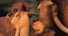 """No one's gonna stop me from getting back to my family!"" – Manny, Ice Age"