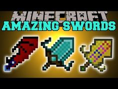 Minecraft: AMAZING SWORDS (SWORD ABILITIES, UPGRADES, DEADLY MOBS, & MORE!) Mod Showcase - YouTube