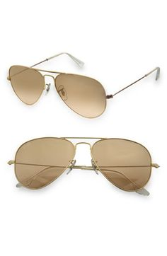 Ray-Ban 'Original - Small Aviator' 55mm Sunglasses @Nordstrom