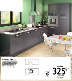 cuisine luna magasin de bricolage brico d p t de claira. Black Bedroom Furniture Sets. Home Design Ideas