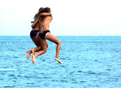 The kind of friendship you seek for during a lifetime    Gotta love our friends - you jump / I jump - together!!!