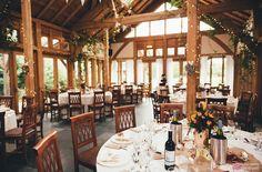The Oak Tree of Peover wedding, wedding breakfast