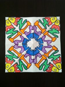 Rotational Symmetry Names from Relief Teaching Ideas