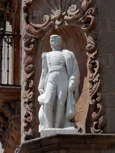This is the statue of San Miguel de Allende.