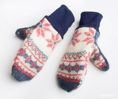 Lapaset vanhasta villapaidasta New Life, Recycling, Gloves, Socks, Diy Crafts, Sewing, Winter, Zero Waste, Accessories