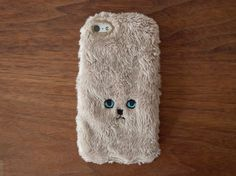 Cat iPhone Cover for iPhone5 - Gold
