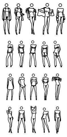 Julian Opie - Stripping girls