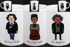 Wee The People Wilde Kahlo Beethoven Mug