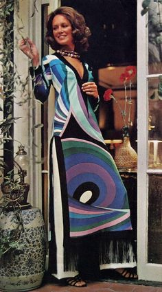 || Desert Lily Vintage || Pucci Vogue pattern
