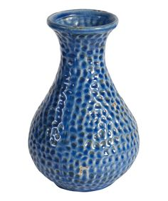 Look at this Blue Pebbled Vase on #zulily today!