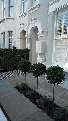 Victorian Terrace House Front Garden Design House Design