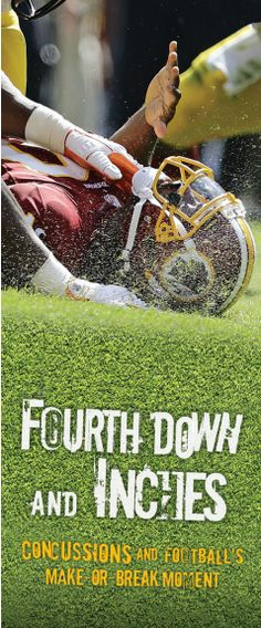 Fourth Down and Inches bookmark. #nonfiction #YA
