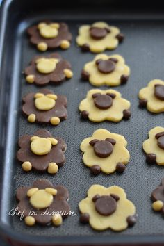 Sheep cookies - hmmmm :] bake bake cake bake The Effective Pictures We Offer You About Easter Recipes Dessert A q Cake Mix Cookies, No Bake Cookies, No Bake Cake, Chip Cookies, Sugar Cookies, Icebox Cookies, Chocolate Cookies, Hot Chocolate, Easy Cheesecake Recipes