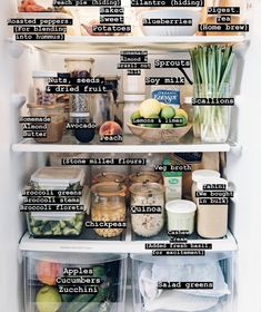 Clean eating fridge contents....