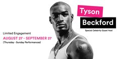 Beckford is BACK! That's right—@TysonCBeckford returns to #Chippendales 8/27—9/27 Buy Tickets: http://Chippendales.com