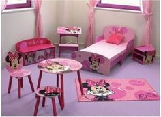 Cute and Worth-to-Buy Minnie Mouse Bedroom Set for Toddler