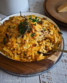 Französische Zwiebel Mac und Käse