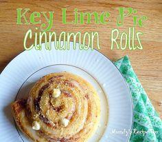 Key Lime Pie Cinnamon Rolls