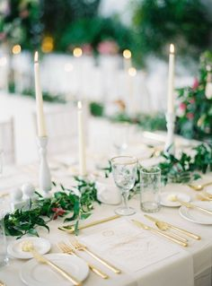 spring wedding centerpieces,candles centerpieces