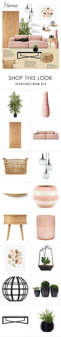 """""""Home sweet home"""" by deborah-lefert ❤ liked on Polyvore featuring interior, interiors, interior design, home, home decor, interior decorating, Nearly Natural, Dot & Bo, Muuto and Menu"""