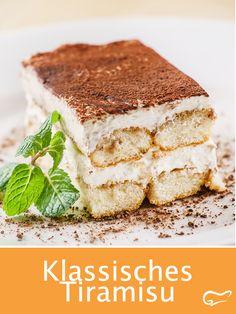 Tiramisu ohne rohe Eier - New ideas Quick Dessert Recipes, Easy Baking Recipes, Easy Cake Recipes, Easy Vanilla Cake Recipe, Chocolate Cake Recipe Easy, Kreative Desserts, Dessert Sauces, Food Cakes, Recipe For 4