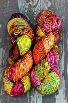 """Ravelry: Color Adventures Dia Fingering Weight Wow, Just wow!**We call this a """"Rose"""" palette, she loves it :) Yarn Thread, Thread Crochet, Crochet Yarn, Knitting Yarn, Knitting Patterns, Knitting Ideas, Yarn Inspiration, Spinning Yarn, Yarn Store"""