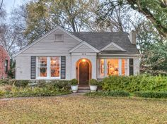 Check out this adorable home in one of the most unique, charming, and friendly neighborhoods in our area!! With lush landscaping, plenty of shade and a nice cozy backyard you'll enjoy this peace