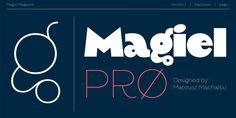 Magiel Pro - Webfont & Desktop font « MyFonts