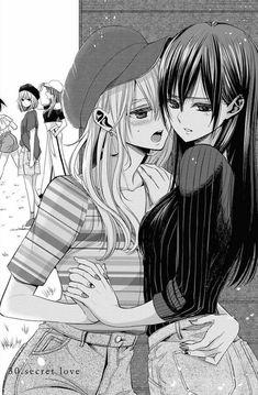Matsuri knows somethings up lmaooo Anime Girlxgirl, Fan Art Anime, Otaku Anime, Chica Anime Manga, Manga Yuri, Yuri Anime, Anime Girl Cute, Anime Love, Lesbian Art
