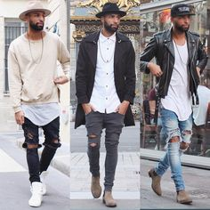 "Stephane Adonai CHMPS?!PARISSE on Instagram: ""Classy & Chillin outfits ... Let me know ✔️ @champaris75 #champaris"""